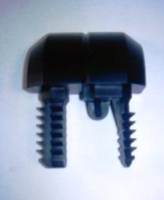 520000965Заглушка бампера заднего черная правая