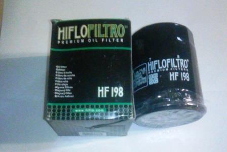 HF198Фильтр масляный HIFLO POLARIS RZR