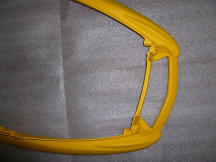 280701Бампер передний Ski-Doo желтый платформа REV 2002-2007